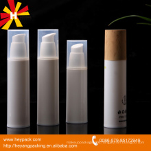 plastic airless cosmetic pump bottle